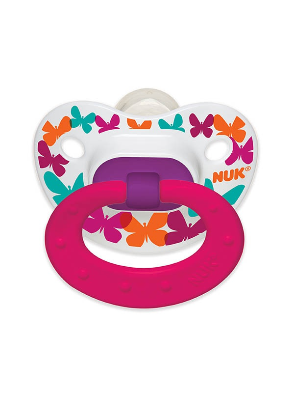 Elephants & Butterflies Orthodontic Pacifiers Product Image 1 of 6