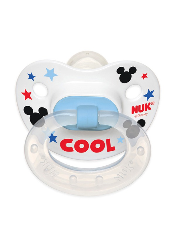 Disney® Mickey Mouse and Minnie Mouse Orthodontic Pacifiers Product Image 1 of 11