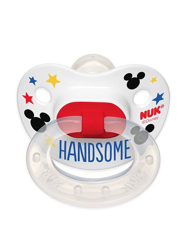 Disney® Mickey Mouse and Minnie Mouse Orthodontic Pacifiers Product Image 5 of 11