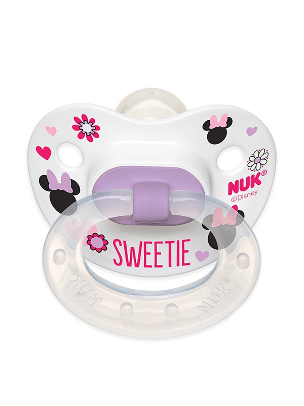 Disney® Mickey Mouse and Minnie Mouse Orthodontic Pacifiers Product Image 6 of 11