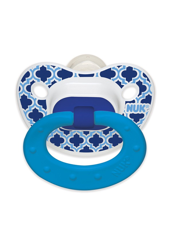 Marrakesh & Whales Orthodontic Pacifier Product Image 1 of 4