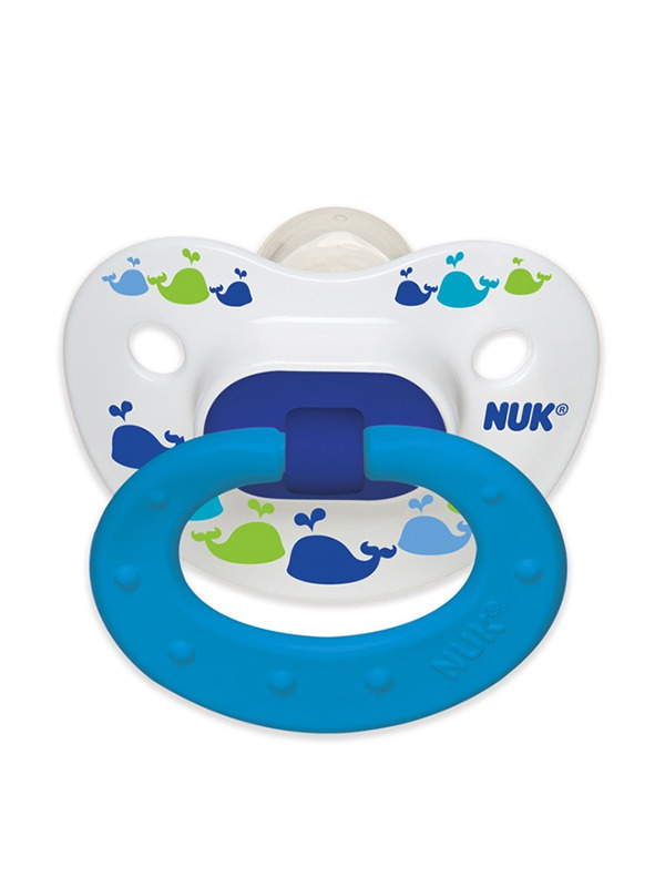 Marrakesh & Whales Orthodontic Pacifier Product Image 2 of 4