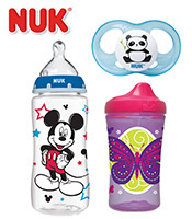 Save $1 off One NUK<sup>®</sup> or Gerber<sup>®</sup> Graduates<sup>®</sup> Tableware Product