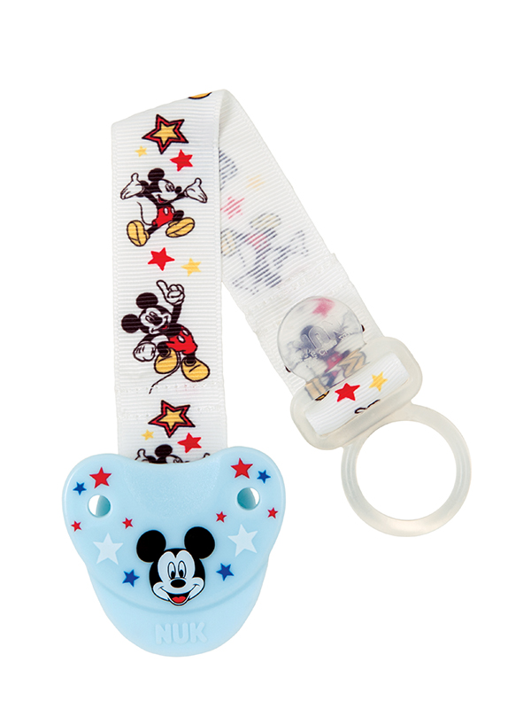 Disney® Mickey Mouse & Minnie Mouse Fashion Pacifier Clip Product Image 4 of 4