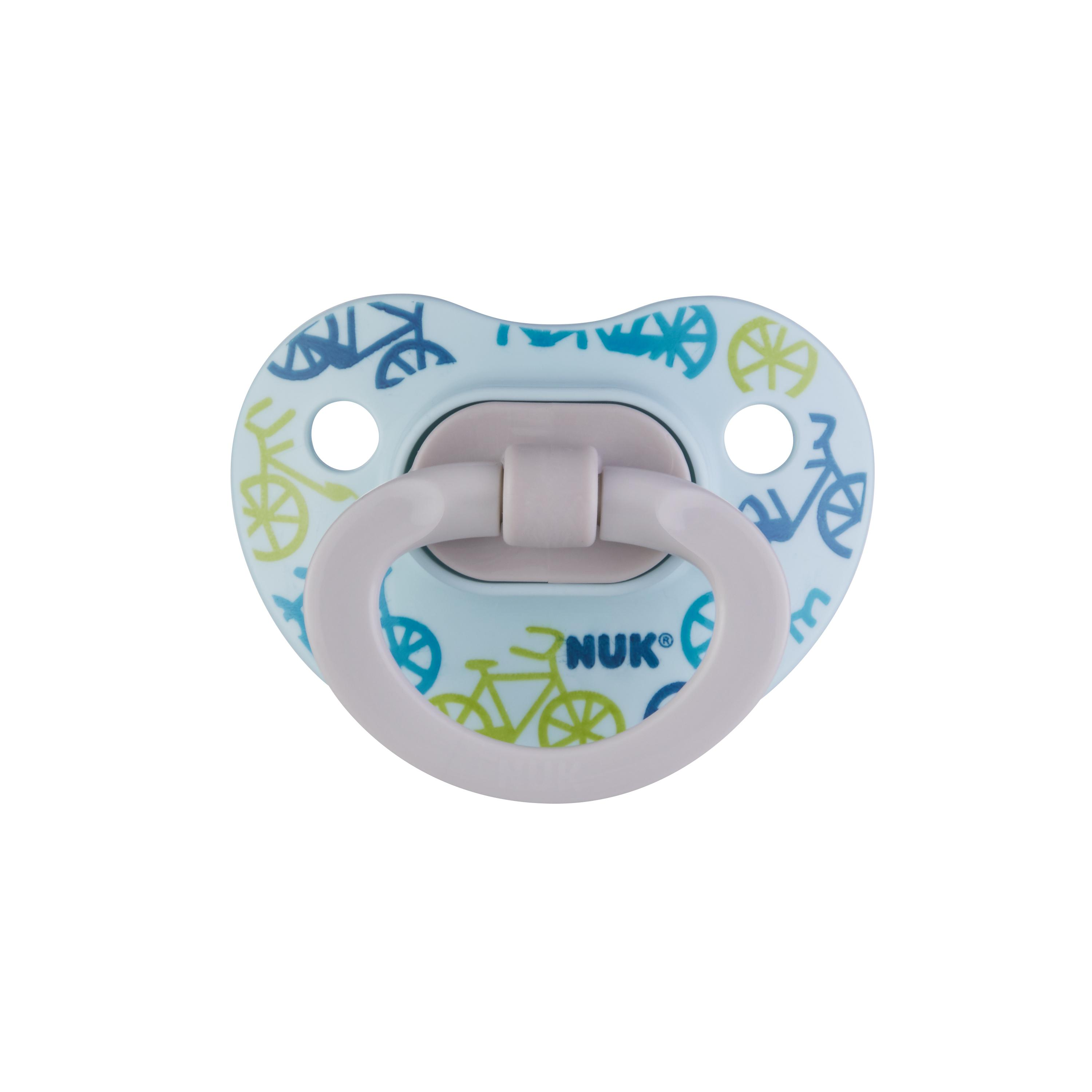 NUK® Glow-in-the-Dark Orthodontic Pacifiers, 6-18 Months, 2-Pack Product Image 4 of 6