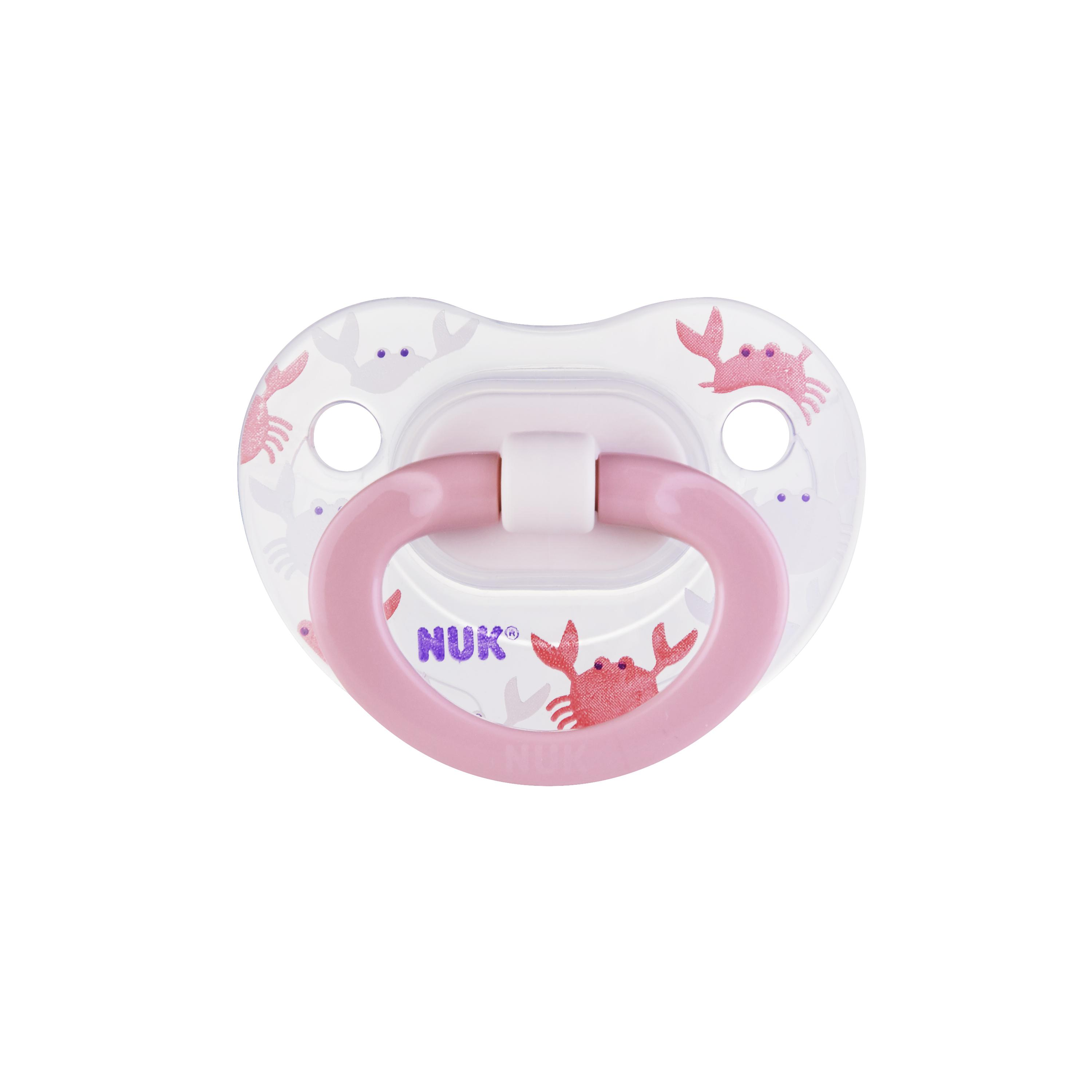 NUK® Orthodontic Pacifiers, 18-36 Months, 2-Pack Product Image 1 of 6