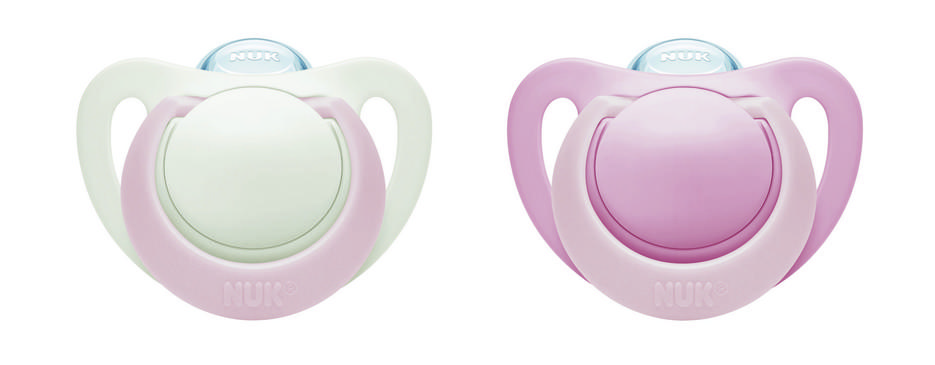 Newborn Orthodontic Pacifiers, 0-2 Months, 2-Pack Product Image 6 of 7