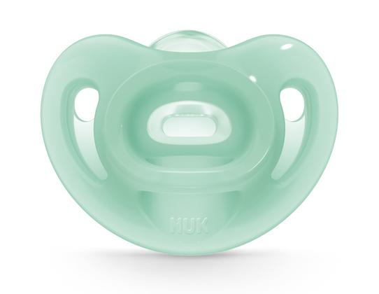 NUK® Sensitive™ Orthodontic Pacifiers, 0-6 Months, 2-Pack Product Image 4 of 7