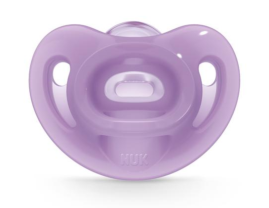 NUK® Sensitive™ Orthodontic Pacifiers, 0-6 Months, 2-Pack Product Image 6 of 7