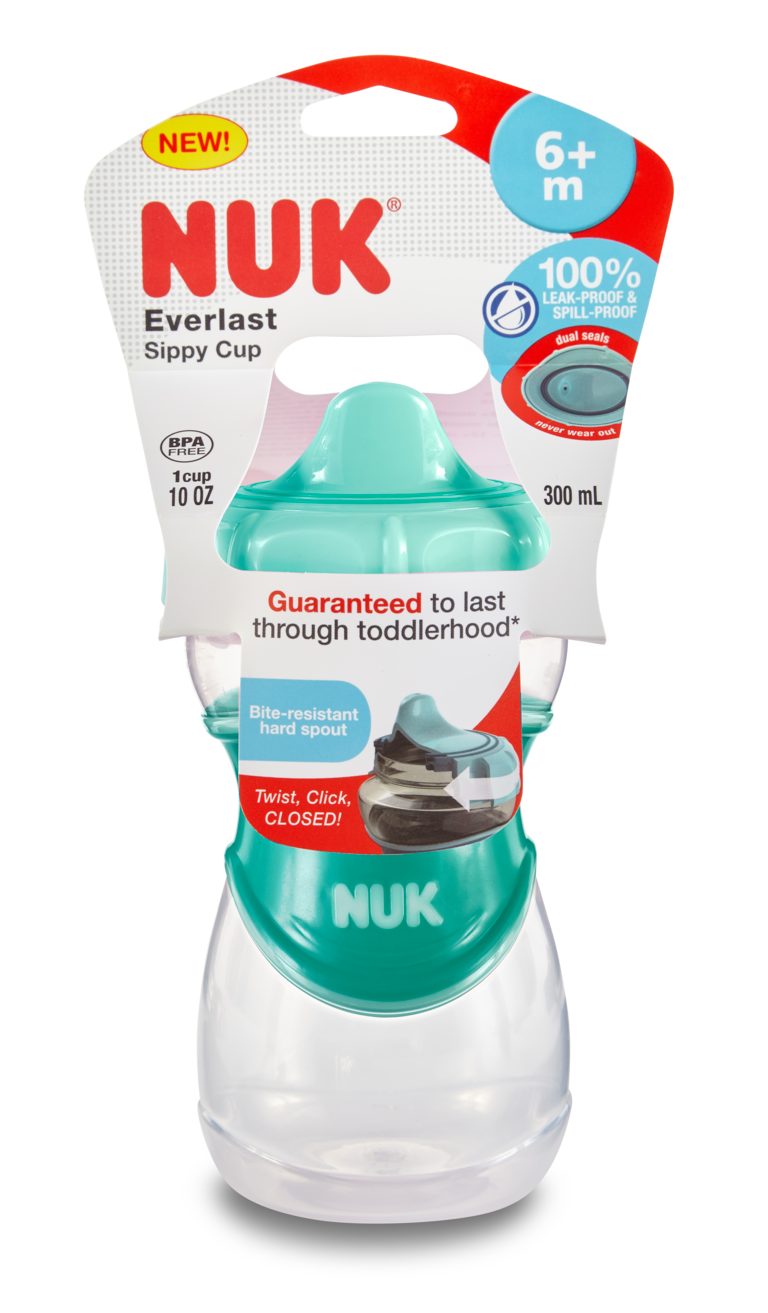 NUK® Everlast Hard Spout Cups Product Image 1 of 17