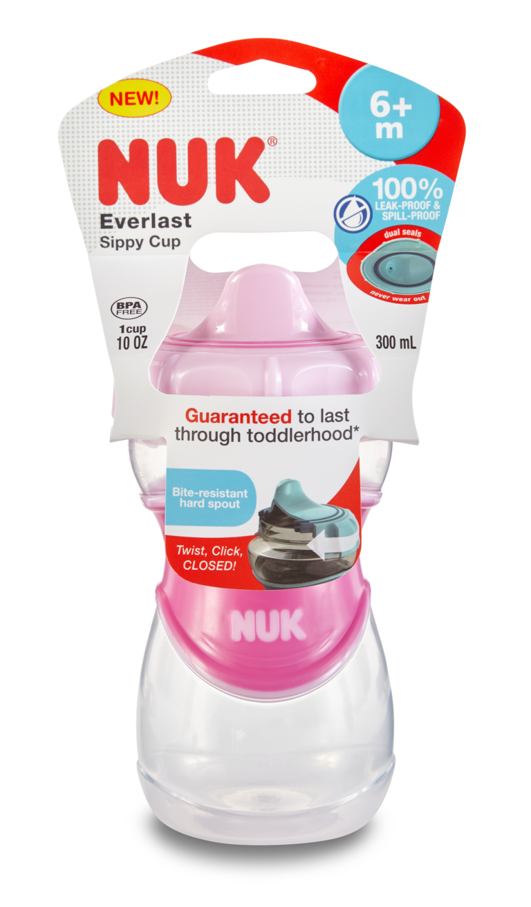 NUK® Everlast Hard Spout Cups Product Image 6 of 17