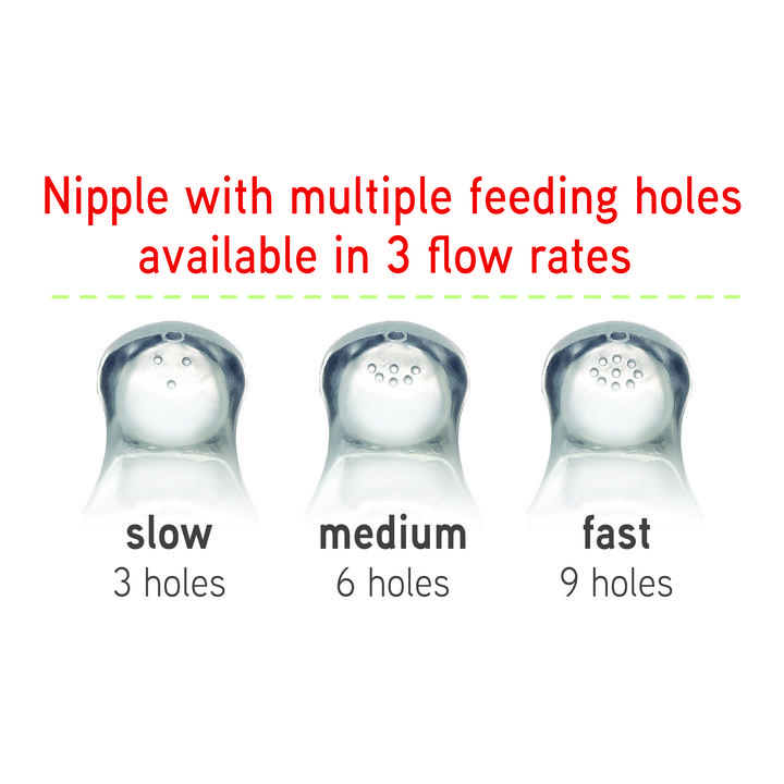 NUK® Simply Natural Medium Flow Nipples, 2Pk Product Image 7 of 10