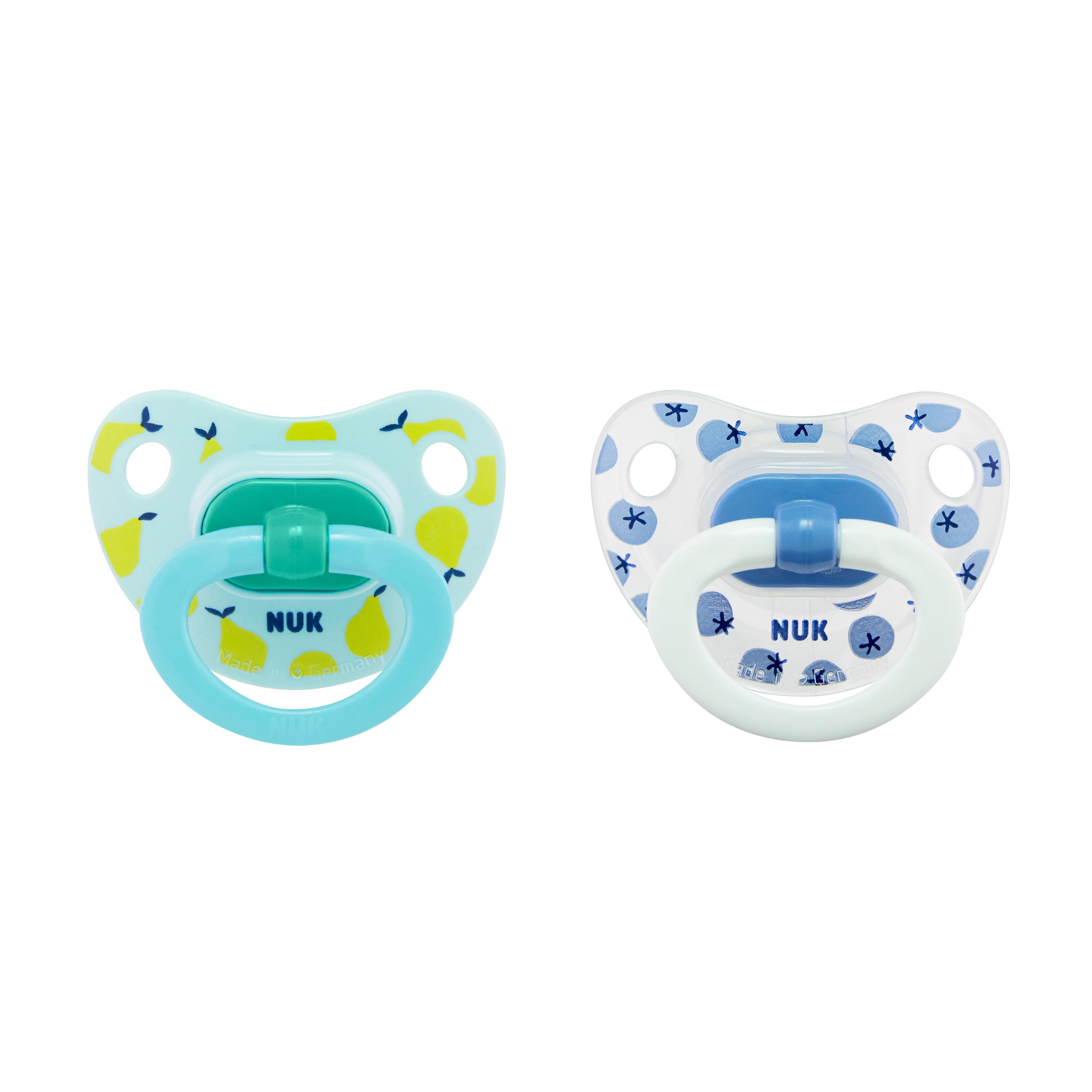 NUK® Orthodontic Pacifiers, 6-18 Months, 2-Pack Product Image 1 of 7