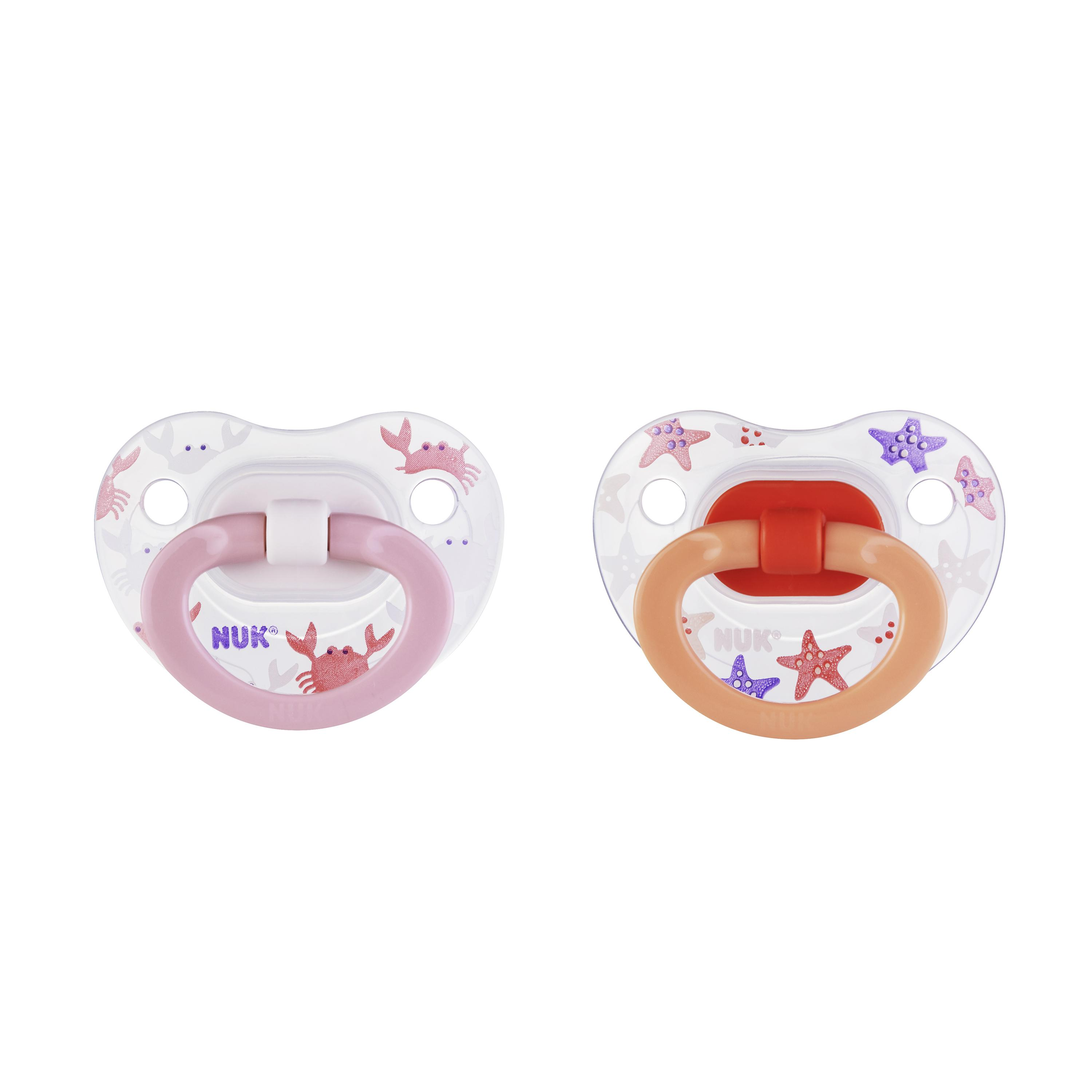 NUK® Orthodontic Pacifiers, 18-36 Months, 2-Pack Product Image 6 of 6