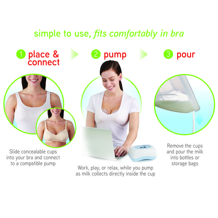 NUK® Simply Natural Freemie Collection Cups Product Image 5 of 5