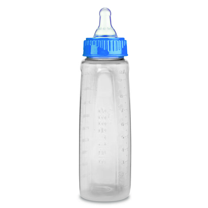 First Essentials by NUK™ Clear View® Bottle, 9 oz., Medium Flow, 3-Pack Product Image 4 of 6