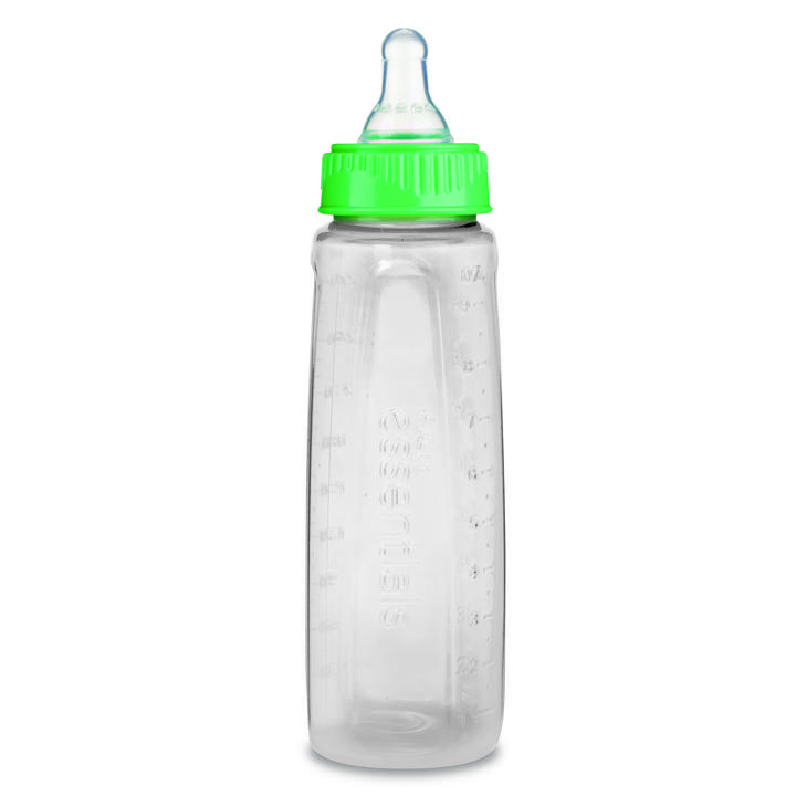First Essentials by NUK™ Clear View® Bottle, 9 oz., Medium Flow, 3-Pack Product Image 5 of 6