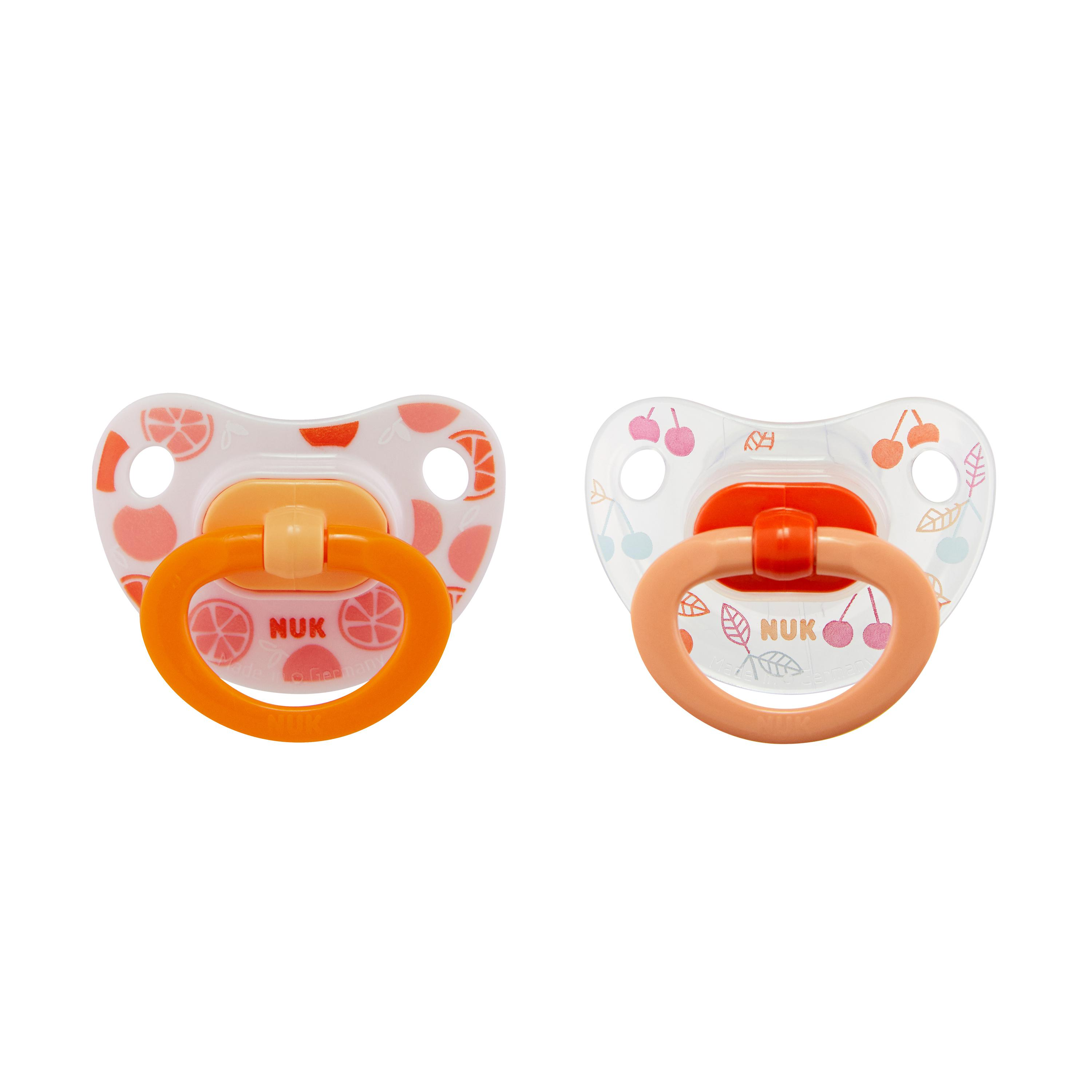 NUK® Orthodontic Pacifiers, 6-18 Months, 2-Pack Product Image 2 of 7