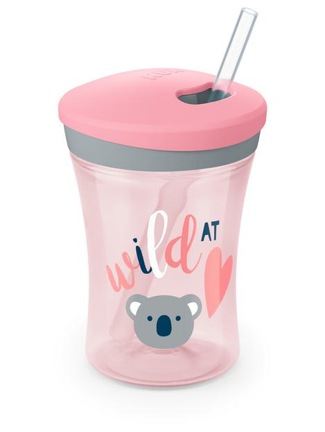 NUK® Evolution Straw Cup, Assorted Colors, 8 oz. Product Image 3 of 4