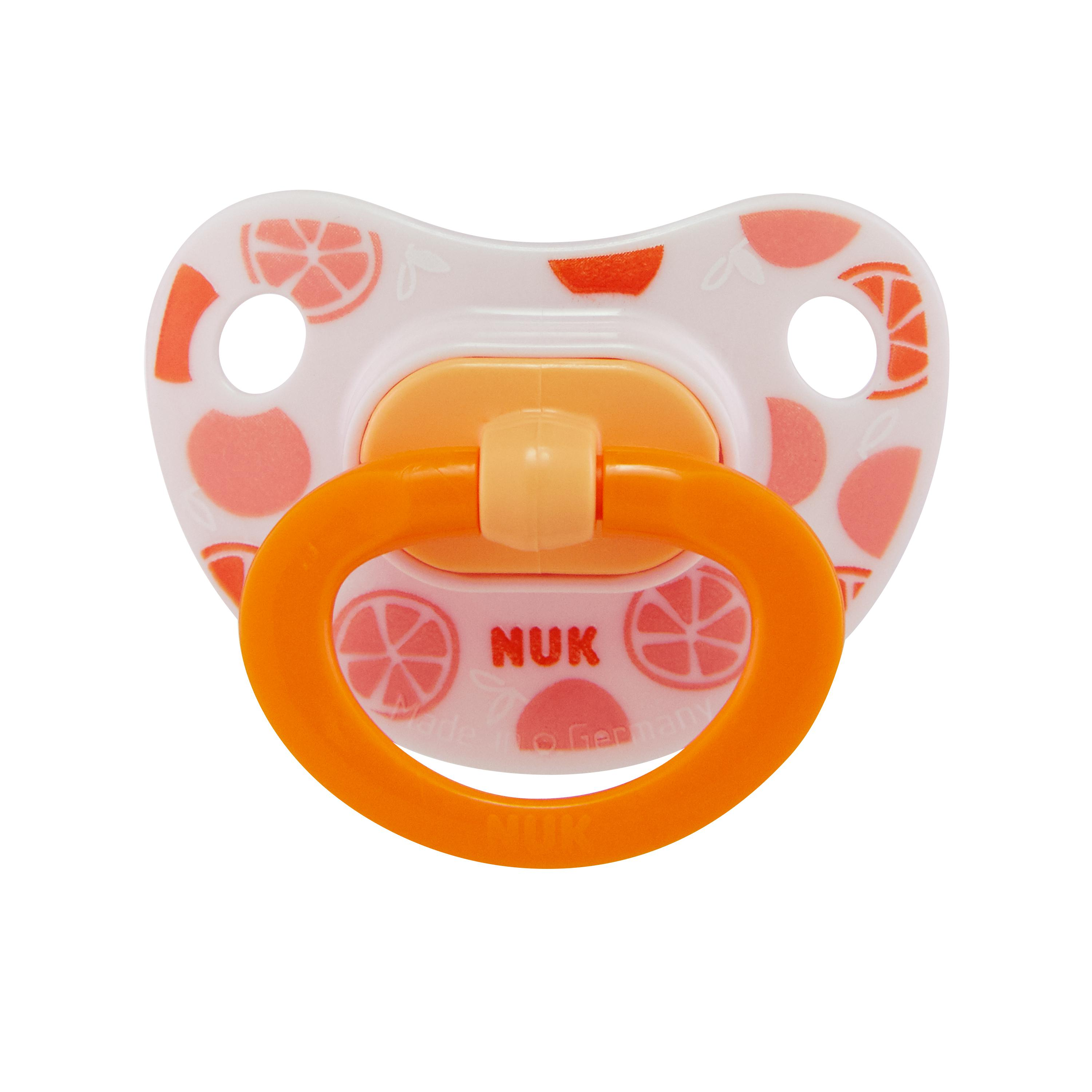 NUK® Sensitive™ Orthodontic Pacifiers, 6-18 Months, 2-Pack Product Image 1 of 7