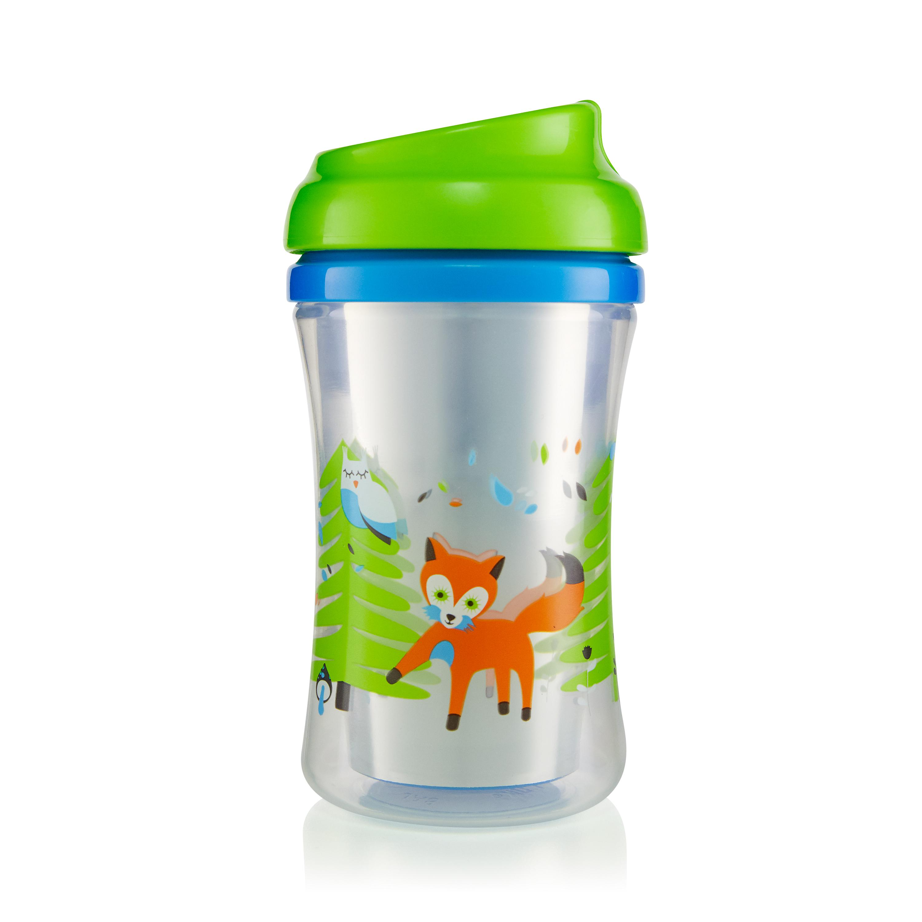 First Essentials by NUK™ Insulated Cup-like Rim Sippy Cup, 9 oz., 2-Pack Product Image 2 of 6