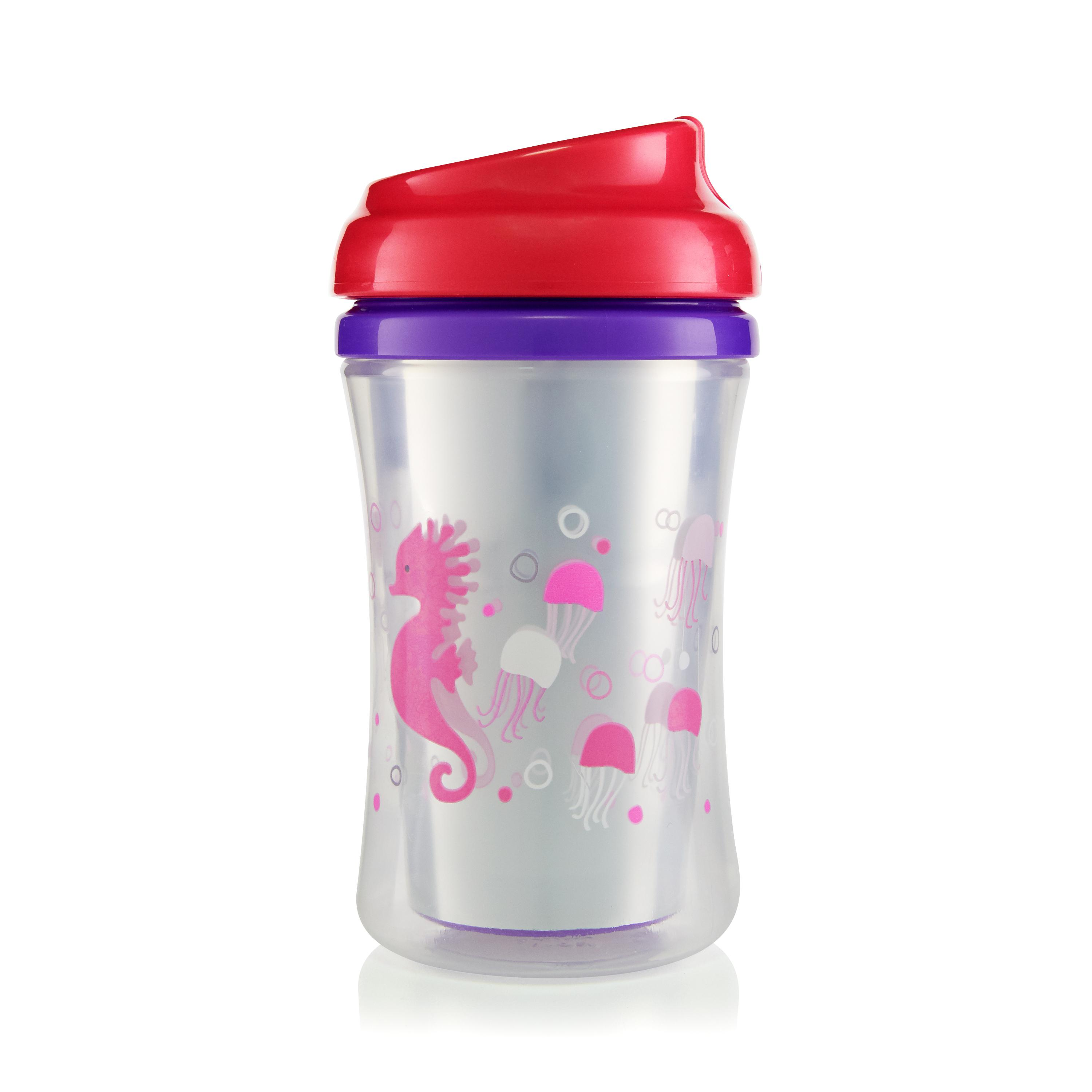 First Essentials by NUK™ Insulated Cup-like Rim Sippy Cup, 9 oz., 2-Pack Product Image 5 of 6