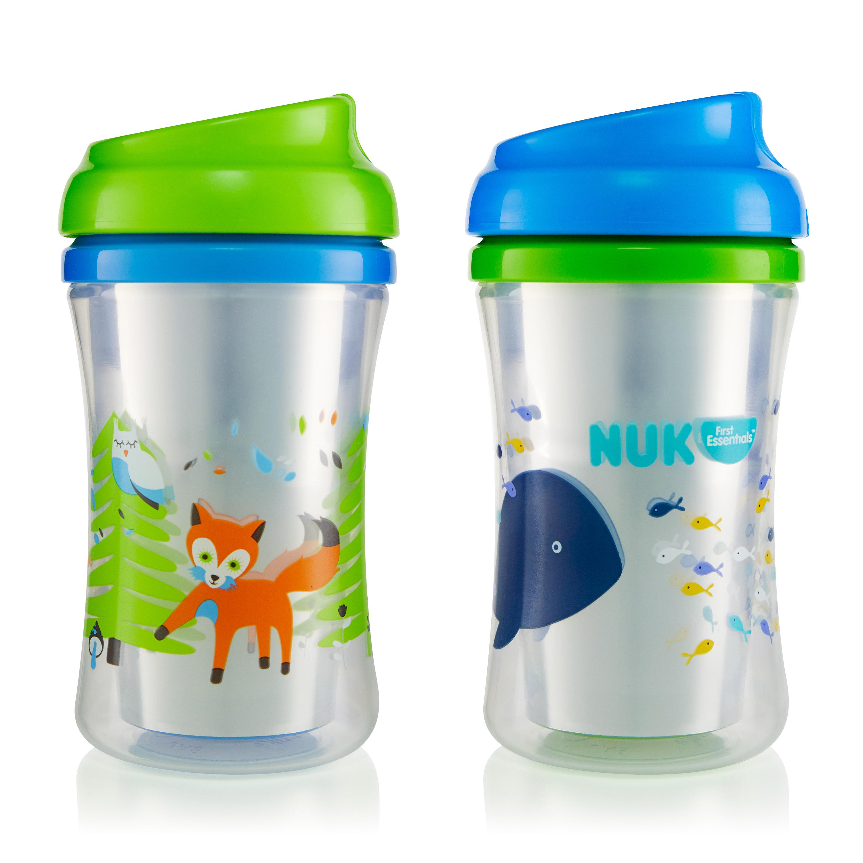 First Essentials by NUK™ Insulated Cup-like Rim Sippy Cup, 9 oz., 2-Pack Product Image 1 of 6
