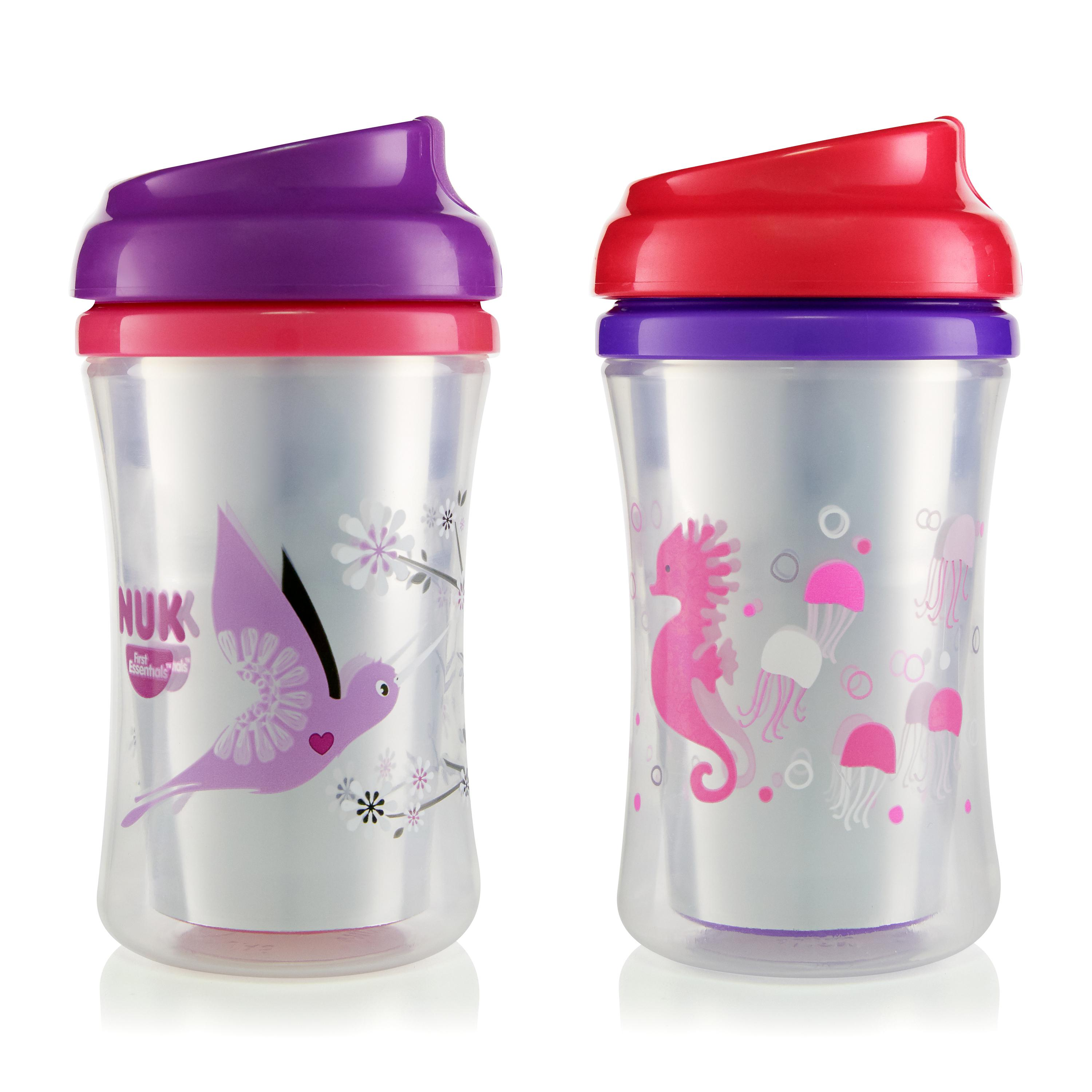 First Essentials by NUK™ Insulated Cup-like Rim Sippy Cup, 9 oz., 2-Pack Product Image 4 of 6