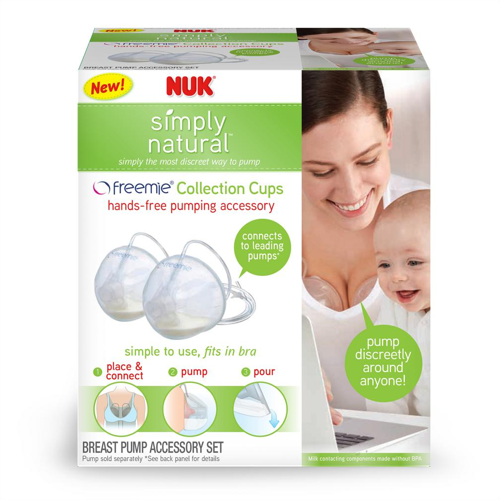 NUK® Simply Natural Freemie Collection Cups Product Image 3 of 5