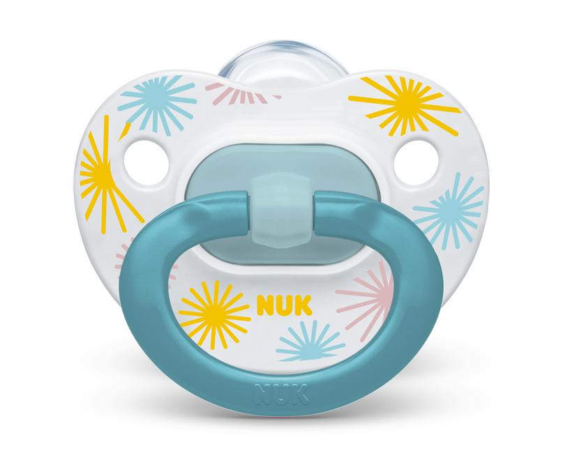 NUK® Orthodontic Pacifier Value Pack, 0-6 Months, 3-Pack Product Image 7 of 7