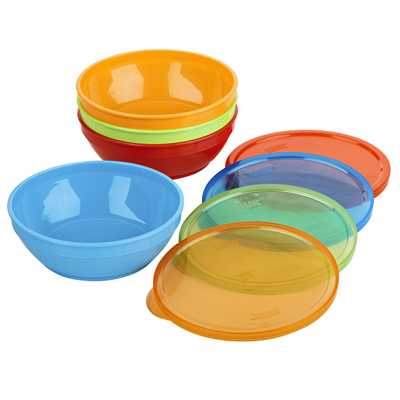 First Essentials by NUK™ Bunch-a-Bowls®, Assorted Colors, 4-Pack Product Image 1 of 4