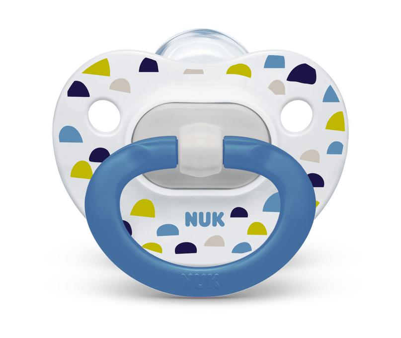 NUK® Orthodontic Pacifier Value Pack, 0-6 Months, 3-Pack Product Image 5 of 7
