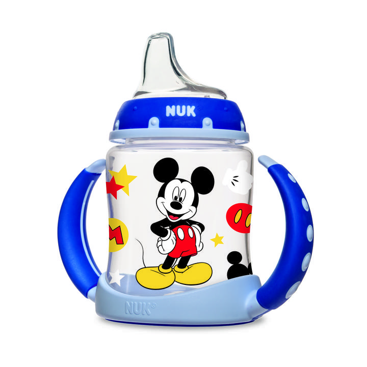 NUK® Disney® Mickey Mouse and Minnie Mouse Learner Cup, 5 oz. Product Image 1 of 4