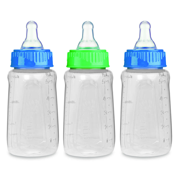 First Essentials by NUK™ Clear View® Bottle, 5 oz., Slow Flow, 3-Pack Product Image 1 of 3