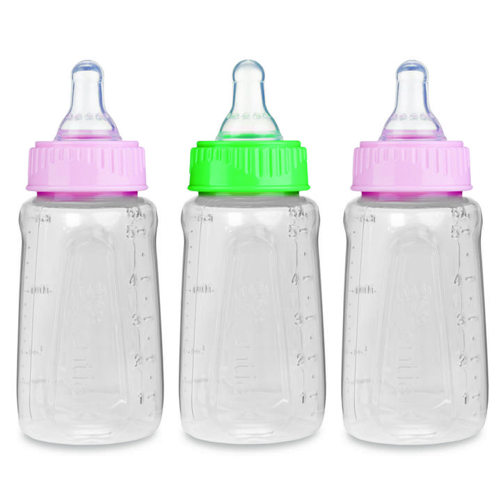 First Essentials by NUK™ Clear View® Bottle, 5 oz., Slow Flow, 3-Pack Product Image 2 of 3
