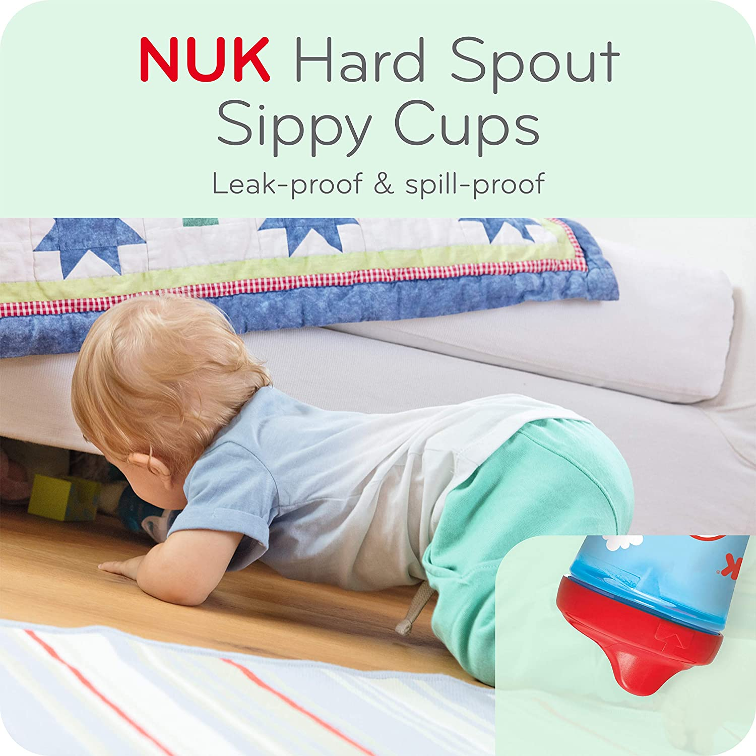 First Essentials by NUK™ 10oz Hard Spout Sippy Cup Product Image 6 of 9