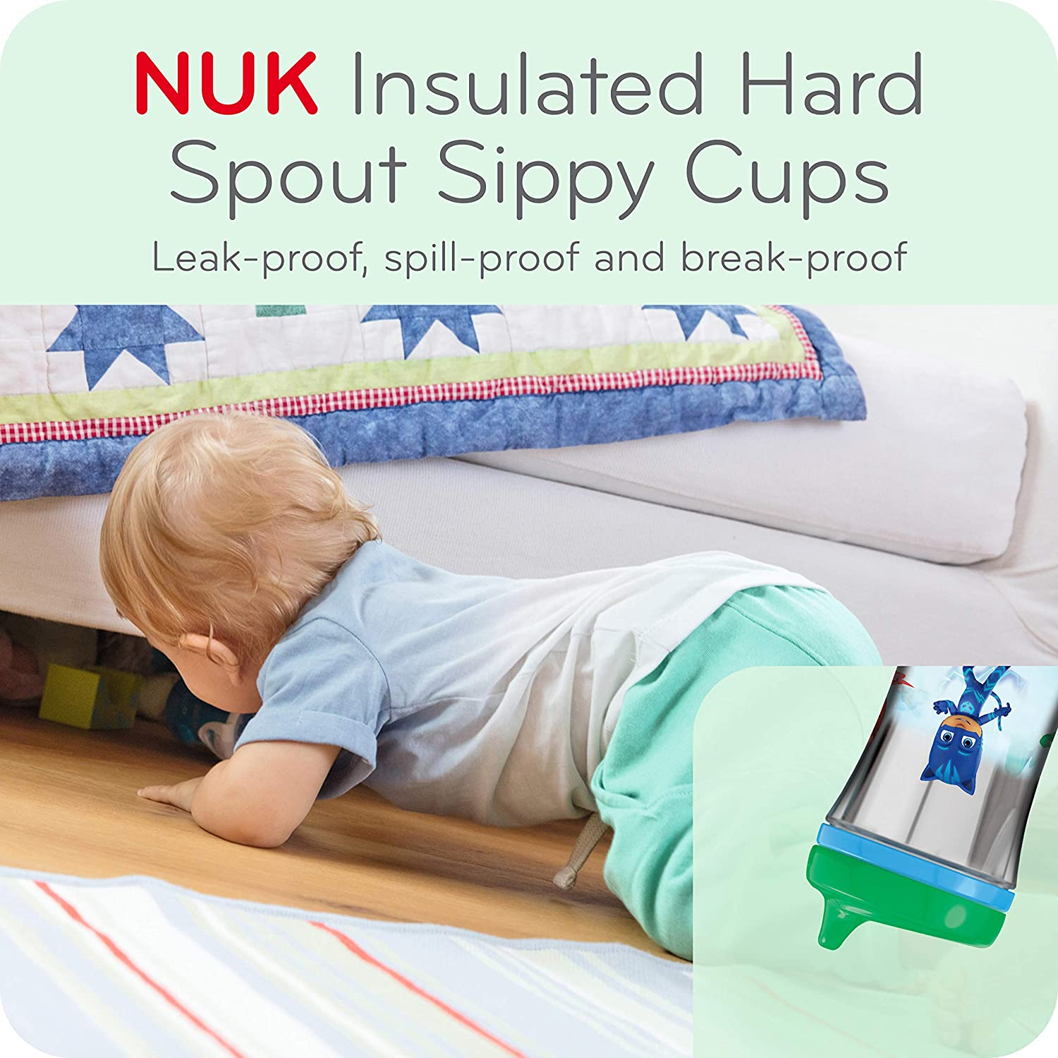 NUK® PJ Masks Insulated Magic 10oz Hard Spout Cup Product Image 4 of 8