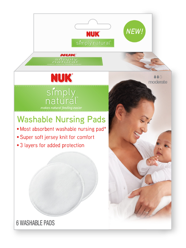 Simply Natural™ Washable Nursing Pads Product Image 1 of 3