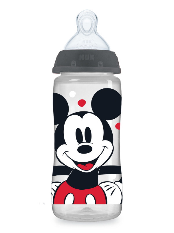 Disney® NUK® Mickey & Minnie Mouse Smooth Flow™  10oz Bottles Product Image 1 of 7