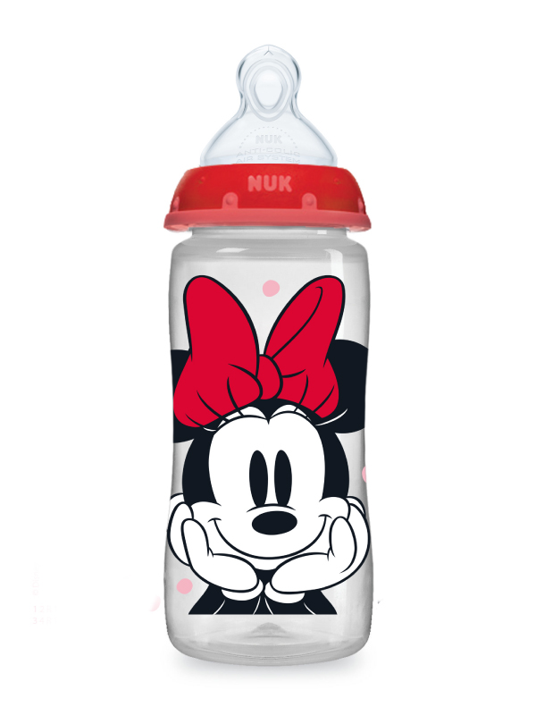 Disney® NUK® Mickey & Minnie Mouse Smooth Flow™  10oz Bottles Product Image 2 of 7
