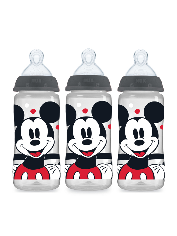 Disney® NUK® Mickey & Minnie Mouse Smooth Flow™  10oz Bottles Product Image 3 of 7