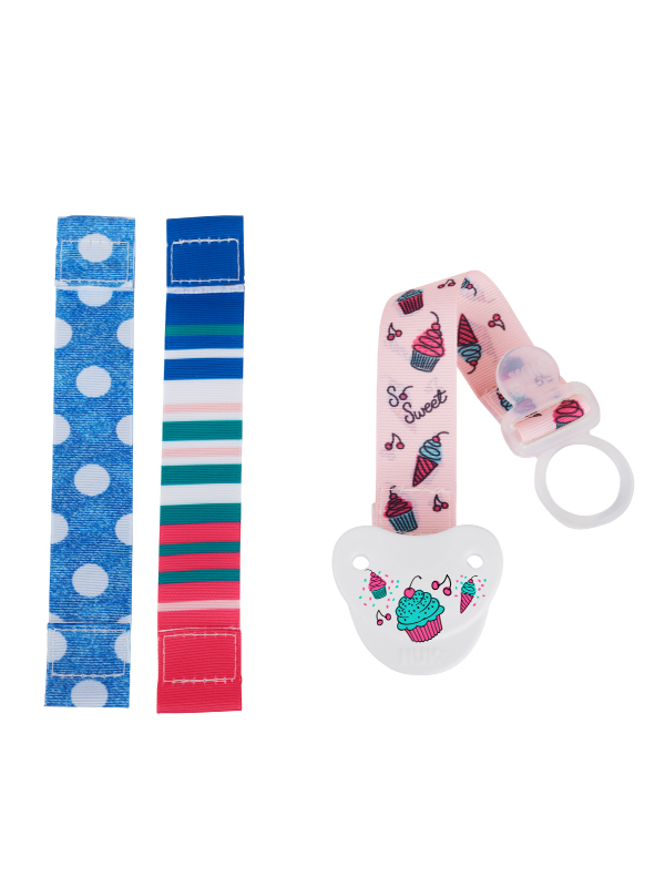 NUK® Fashion Pacifier Clip Product Image 3 of 3