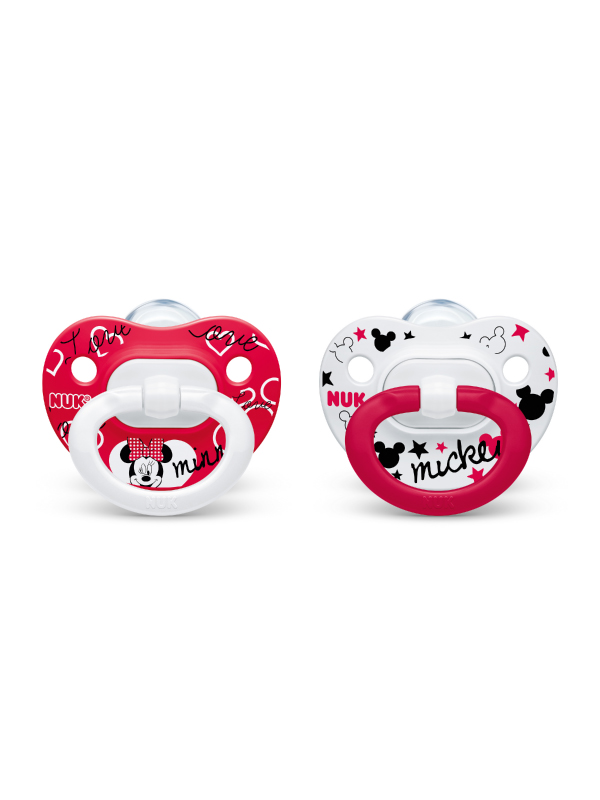 NUK® Disney® Mickey/Minnie Mouse Pacifiers Product Image 2 of 3