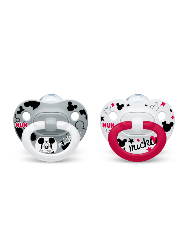 NUK® Disney® Mickey/Minnie Mouse Pacifiers Product Image 3 of 3
