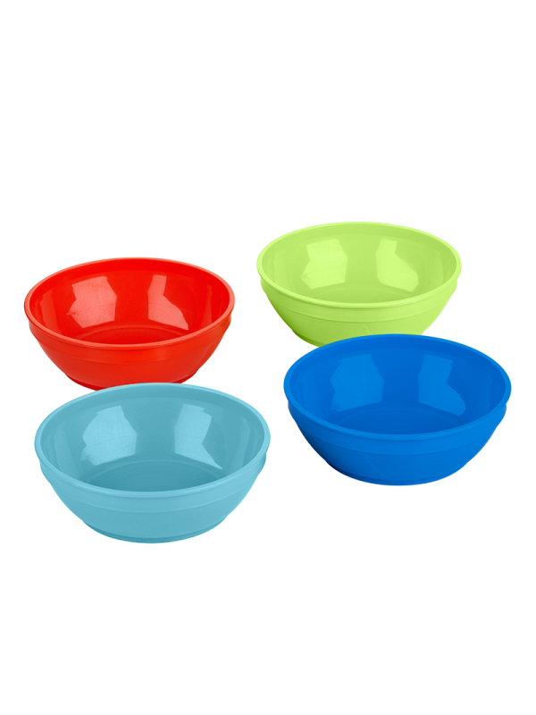 First Essentials™ by NUK® Bunch A Bowels® with Lids 4PK Product Image 3 of 3
